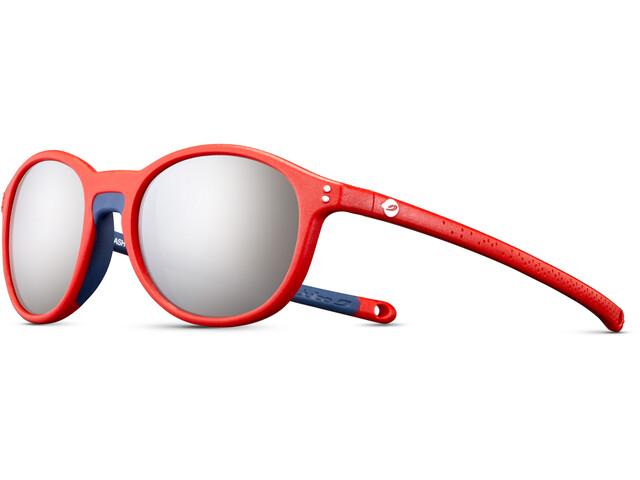 Julbo Flash Spectron 3+ Sunglasses Kids, czerwony/niebieski